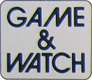 The logo of Game&Watch