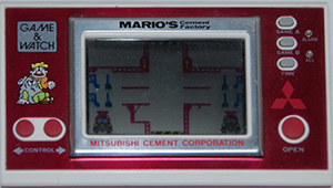 Promo Game&Watch Mitsubushi