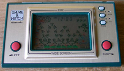 Green Game&Watch Fire FR-27